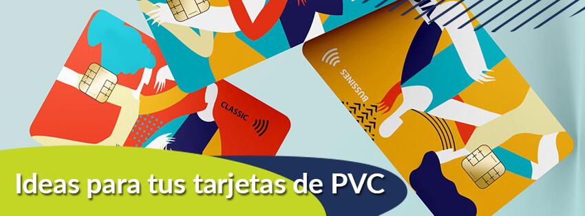 ideas para tus tarjetas de pvc